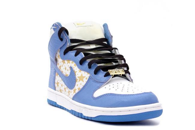 timeless design bc11b 81068 Nike Dunk High Pro SB Supreme Blue