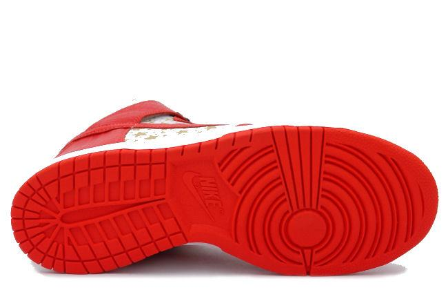 4d30f05669e5 Nike Dunk High Pro SB Supreme Red. Style ID  307385-161