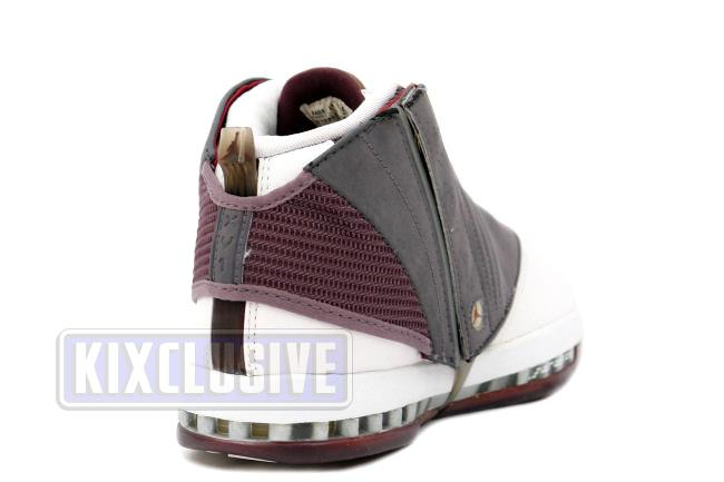 9c62a5f16aeb Info The Air Jordan 16 is the first and only Air Jordan to feature a  removable ...