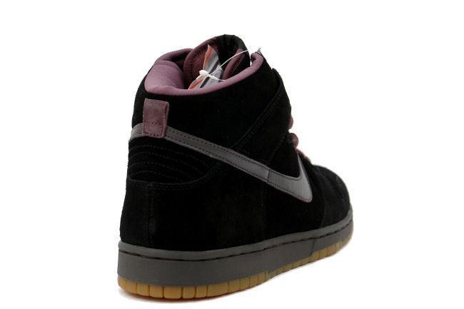 be33a1c2 Nike SB Dunk High Black / Midnight Fog. Style ID: 305050-002